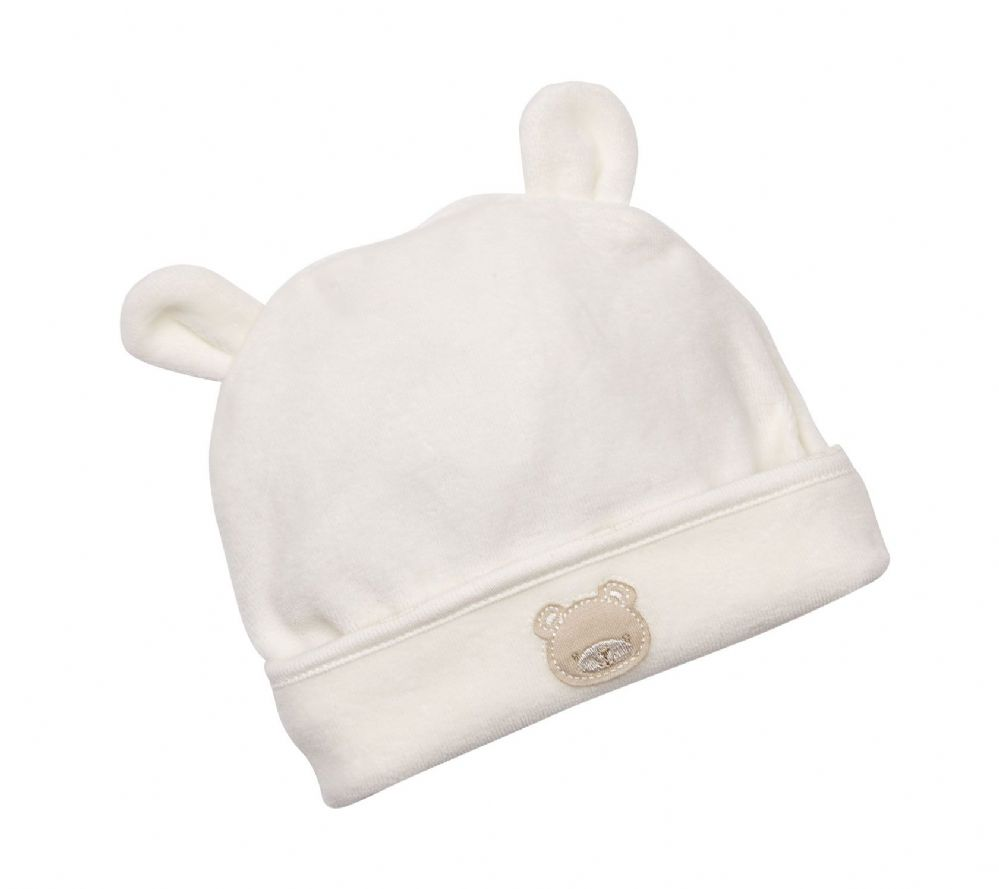 "AV1892 ""Baby Buddie Bear"" Hat & Boottees"